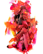 Multi Colored Paintings - Hot Stuff by Newel Hunter