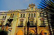 Attraktion Metal Prints - Hotel Alfonso XIII - Seville Metal Print by Juergen Weiss