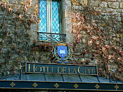 Hotel De La Cite Print by France  Art