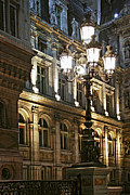 Vacations Photo Prints - Hotel de Ville in Paris Print by Elena Elisseeva