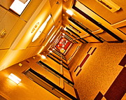 Repetition Photos - Hotel Hallway by Robert Harmon
