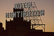 Hotel Huntington Print by Larry Butterworth