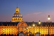 Invalides Framed Prints - Hotel les Invalides Framed Print by Brian Jannsen