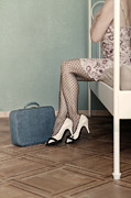 Luggage Metal Prints - Hotel Room Metal Print by Joana Kruse