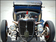 T Bucket Rat Rod Posters - HotRod Thunder Poster by Kip Krause