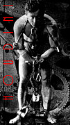 Wingsdomain Art and Photography - Houdini Steampunk 20140222 Black and White v3