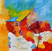 Pol Ledent - House and tree