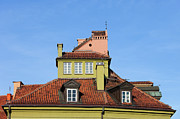 Rooftop Framed Prints - House Attic Framed Print by Artur Bogacki