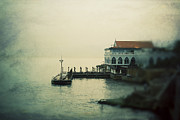 Atmospheric Prints - House by the Mediterranean  Print by Mohamad Itani