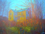 House In Blacksburg Print by Kendall Kessler