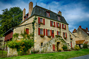 Apremont Framed Prints - House of central France Framed Print by Oleg Koryagin