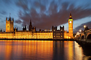Palace Of Westminster Prints - House of Parliament Print by Brian Jannsen