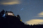 Stary Sky Prints - House On The Hill Print by James Bo Insogna