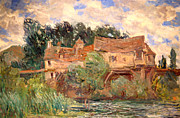 The  White House Digital Art - House On The Old Bridge by Claude Monet