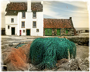 Fishing Village Digital Art - House on the Quay by Edmund Nagele