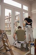 Patricia Hofmeester - House painters at work