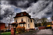 Miriam Danar - House with Storm...
