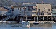 Elery Oxford - Houseboat in Monterey...