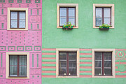 Adobe Buildings Prints - Houses from the outside Print by Michal Bednarek