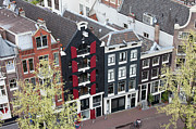 Rooftop Photos - Houses in Amsterdam from Above by Artur Bogacki