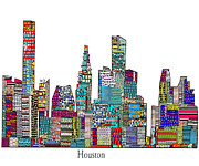 Houston Print by Bri Buckley