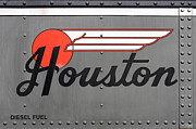 Rivets Art - Houston Line Trains by Art Block Collections