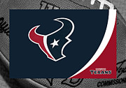 Houston - Texas Posters - Houston Texans Poster by Joe Hamilton