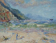 Hout Bay Beach Print by Elinor Fletcher