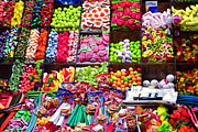 Open Market Metal Prints - How About A Bag of Candy  Metal Print by Jon Berghoff