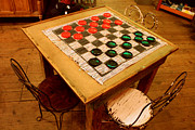 General Stores Framed Prints - How Bout A Game Of Checkers? Framed Print by Kathy  White