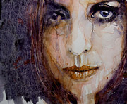 Eyes  Paintings - How Can You Mend A Broken Heart by Paul Lovering