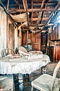 Ghost Town Metal Prints - How Long Until Breakfast Metal Print by Cat Connor