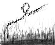 How Sweet The Sound Print by J Ferwerda