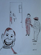 Howdy Doody Prints - Howdy Lee and Me Print by Bill OConnor