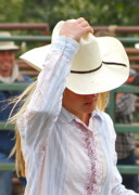 Cowgirl Photos - Howdy by Rick  Monyahan