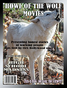 Magazine Cover Digital Art - Howl of the Wolf Movies by John Haldane