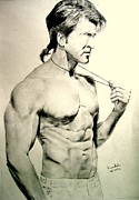 Etc. Drawings - Hrithik Roshan by Nitesh Kumar