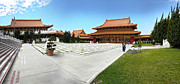 Hsi Lai Temple - 08 Print by Gregory Dyer
