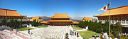 Hsi Lai Temple - 09 Print by Gregory Dyer