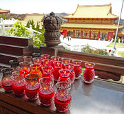 Gregory Dyer - Hsi Lai Temple - Candles - 02
