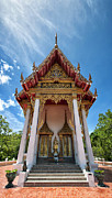 Hua Framed Prints - Hua Hin Temple 09 Framed Print by Antony McAulay