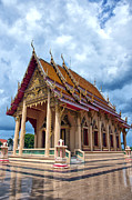 Hua Framed Prints - Hua Hin Temple 15 Framed Print by Antony McAulay
