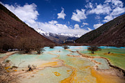 Fototrav Print - Huanglong Valley Sichuan ChinaHuanglong is a nature reserve