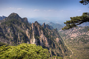 Fototrav Print - Huangshan Mountain Chinese famous landscape