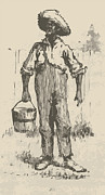 Huckleberry Posters - Huckleberry Finn Illustration Poster by