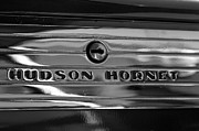 Wheel Framed Prints Posters - Hudson Hornet Chrome Poster by Brooke Roby