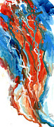 Abstract Expressionist Posters - Hue See Eye See Poster by Ken Meyer jr