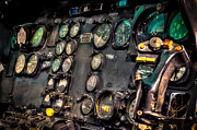 U.s Army Prints - Huey Instrument Panel Print by David Morefield