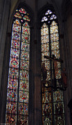 Germany Glass Art Framed Prints - Huge stained glass windows Framed Print by Suhas Tavkar