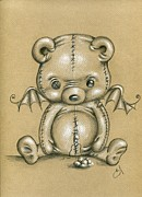 Gothic Drawings Prints - Hugs Print by Sour Taffy